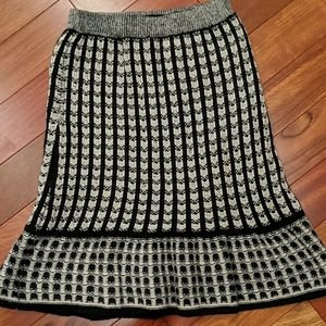Sparrow Sweater Winter Knit Skirt XS Anthropologie